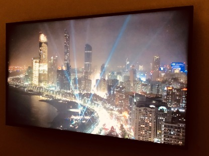Other Lozano-Hemmer installations they highlighted: the flood lights happened in Abu Dhabi and the field installation happened in Central Park.